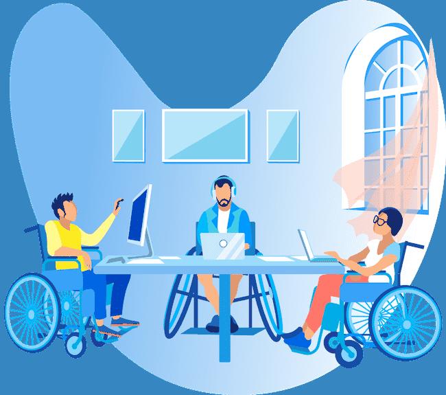 usługi niepełnosprawni pracownicy