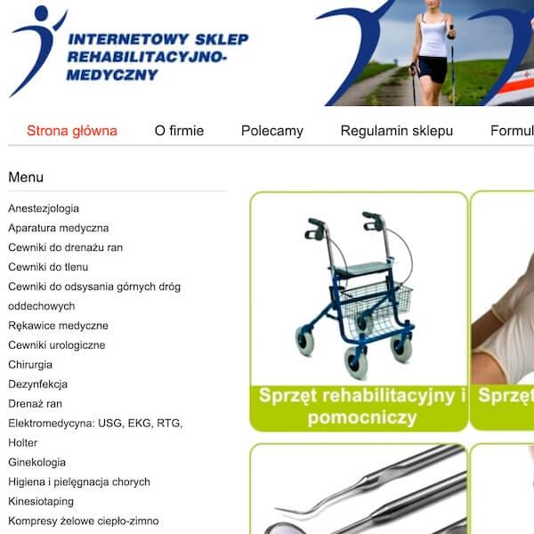 sklep rehabilitacyjny